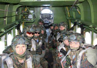 Тренировочные сборы парашютной группы инструкторов ВСК Свердловской области